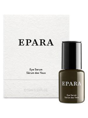 """<p><strong>Epara Skincare</strong></p><p>saksfifthavenue.com</p><p><strong>$140.00</strong></p><p><a href=""""https://go.redirectingat.com?id=74968X1596630&url=https%3A%2F%2Fwww.saksfifthavenue.com%2Fepara-skincare-eye-serum%2Fproduct%2F0400012292085&sref=https%3A%2F%2Fwww.goodhousekeeping.com%2Fbeauty%2Fanti-aging%2Fg26858923%2Fbest-eye-creams%2F"""" rel=""""nofollow noopener"""" target=""""_blank"""" data-ylk=""""slk:Shop Now"""" class=""""link rapid-noclick-resp"""">Shop Now</a></p><p><strong>For a lightweight, less greasy feel around the eyes, seek out a faster-absorbing eye serum</strong>, like this formula from Epara. It contains licorice root extract to brighten and botanical oils like apricot to soften, and also works on the delicate eyelids. </p>"""