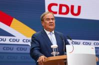 CDU news conference after German general elections, in Berlin