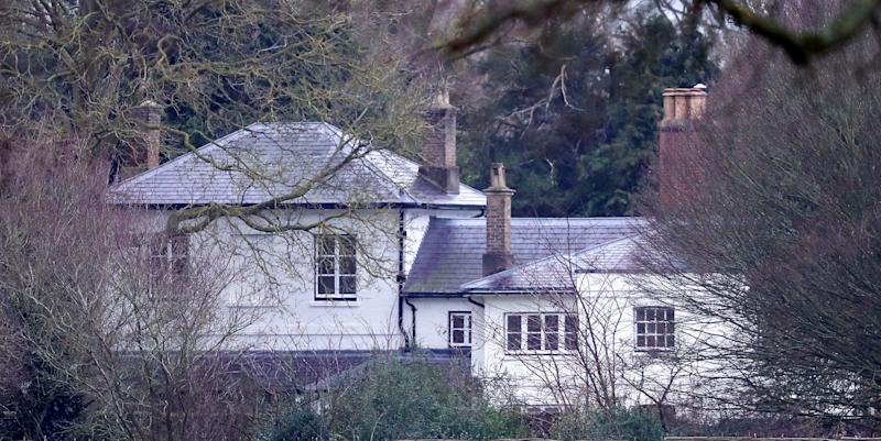 <strong>Frogmore Cottage on the Home Park Estate, Windsor.</strong> (Photo: PA)