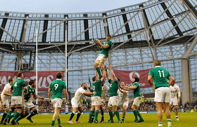 <p>Ireland beat England but Eddie Jones' men still picked up the Six Nations title </p>