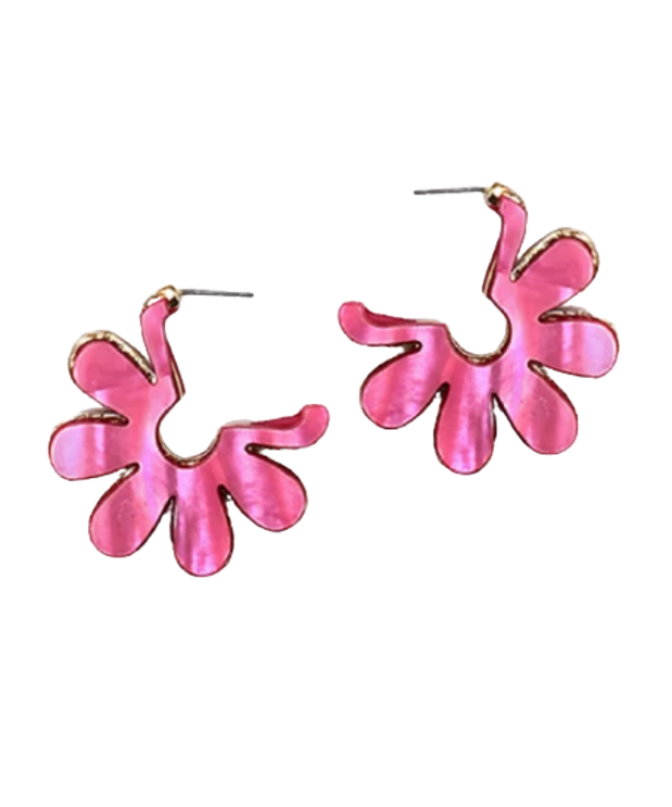 """<p><strong>Humans Before Handles Meadow Earrings, $45, <a href=""""https://shop-links.co/1738308370599510904"""" rel=""""nofollow noopener"""" target=""""_blank"""" data-ylk=""""slk:available here"""" class=""""link rapid-noclick-resp"""">available here</a>: </strong>""""Don't these earrings just scream, 'It's finally getting nice outside'? I see myself wearing them with a monochromatic pink outfit, like some kind of early aughts main character."""" —Liza Sokol, Senior Audience Development Manager </p>"""