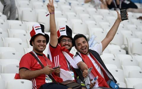 egypt supporters - Credit: AFP