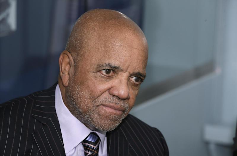FILE - In this Oct. 21, 2014, file photo, Motown Records founder Berry Gordy appears during an interview at the Motown Museum in Detroit. The Motown Museum is planning an expansion that will include interactive exhibits, a performance theater and recording studios. The museum said Monday, Oct. 17, 2016, that the new space will be designed and built around the existing museum. The Motown Museum is located in the house where Gordy launched a cultural and commercial music empire. (AP Photo/Carlos Osorio, File)