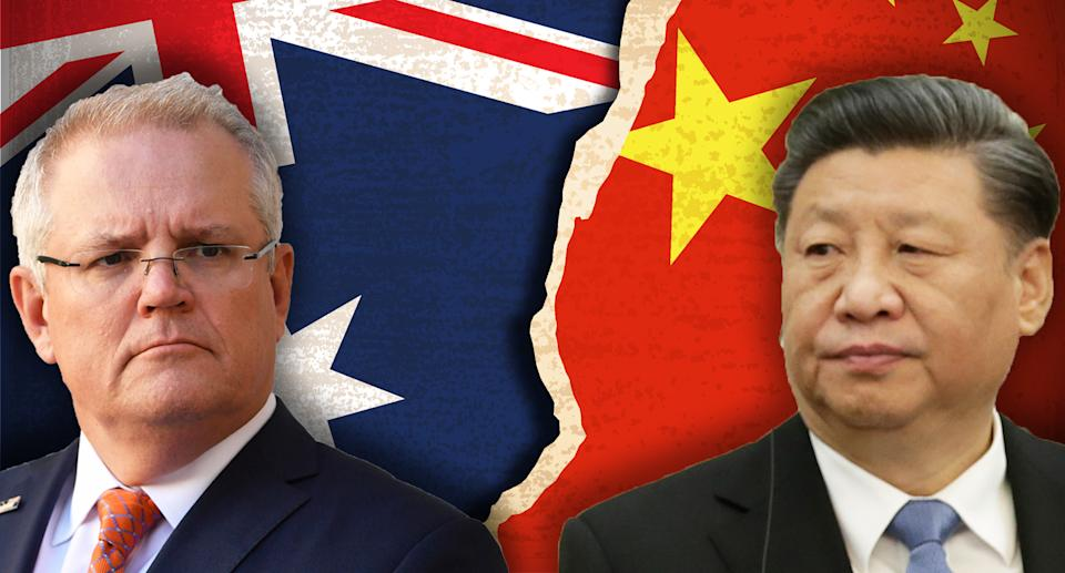 Chinese state media has warned of tensions between Australia and China could be prolonged. Source: Getty/AAP