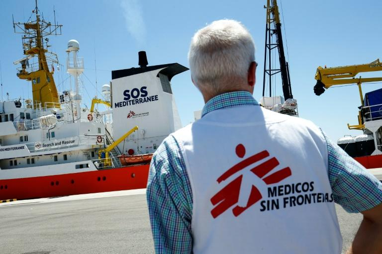 The Aquarius rescue ship saved 30,000 lives in its near three years of operations but the charities that ran it said it was forced to suspend its missions due to obstructions by some European countries (AFP Photo/PAU BARRENA)