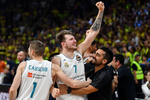 Slovenian playmaker Luka Doncic, perhaps the most decorated international prospect ever to enter the NBA draft, is on his way to the NBA. (Andrej Isakovic/AFP/Getty Images)