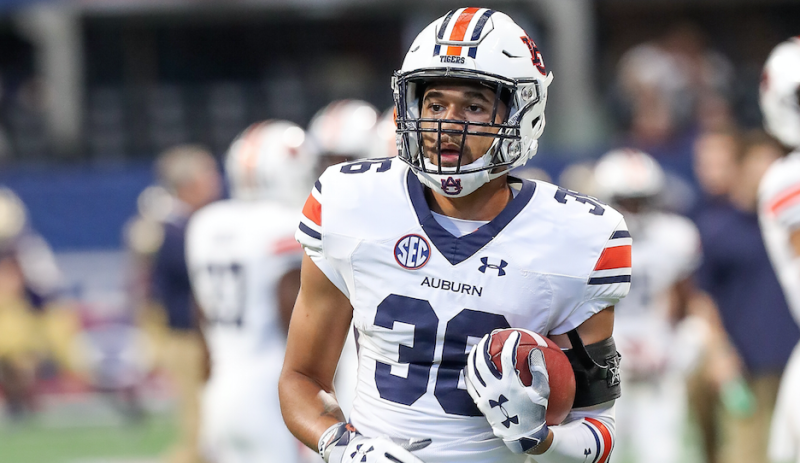 Michael Harris transferred from Auburn last month. (Frank Mattia/Icon Sportswire via Getty Images)