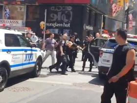 Times Square crash: Witnesses describe moment car ploughed into pedestrians