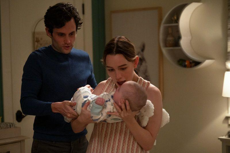 <p><strong>Watch from Friday, October 15th on Netflix</strong></p><p>Bookkeeper-turned-serial-killer Joe Goldberg is back, and this time he's had a baby with his sociopath partner Love. </p><p>Netflix says: 'The couple have have moved to the balmy Northern California enclave of Madre Linda, where they're surrounded by privileged tech entrepreneurs, judgmental mommy bloggers, and Insta-famous biohackers. </p><p>'Joe is committed to his new role as a husband and dad but fears Love's lethal impulsiveness. And then there's his heart. Could the woman he's been searching for all this time live right next door? Breaking out of a cage in a basement is one thing. But the prison of a picture-perfect marriage to a woman who's wise to your tricks? Well, that'll prove a much more complicated escape.' </p>