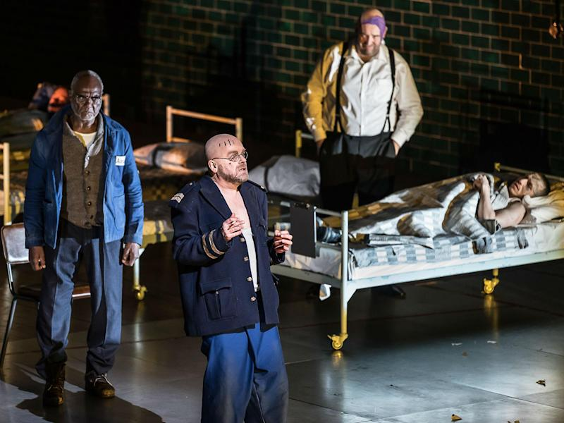 The cast of 'From The House of the Dead' at the Royal Opera House: Clive Barda/ROH
