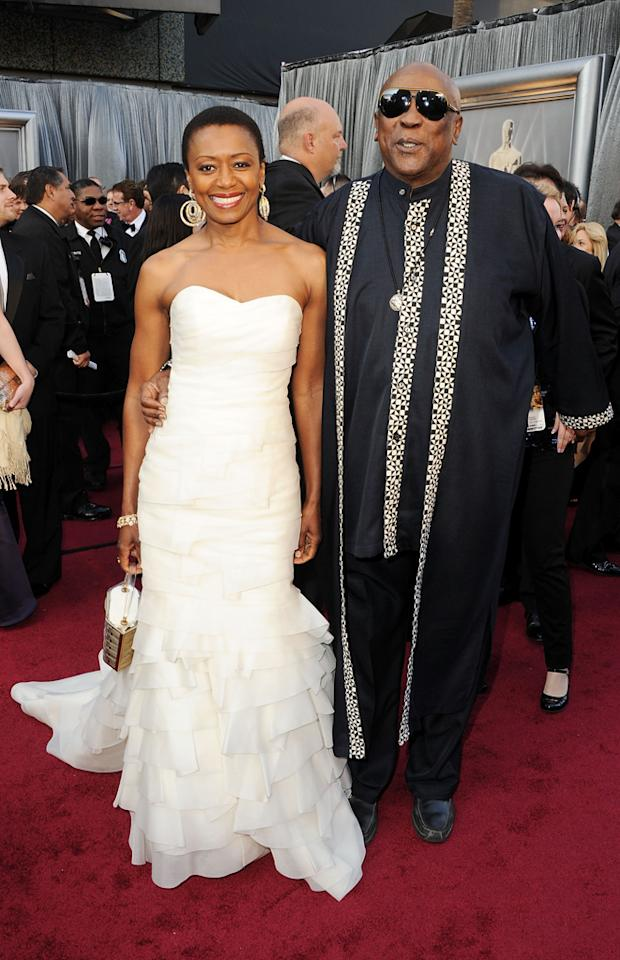 Louis Gossett Jr. and guest arrive at the 84th Annual Academy Awards in Hollywood, CA.