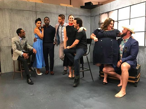 "<p>""Can't get enough of these folks,"" the <em>This is Us</em> star wrote of her castmates as they goofed around at a press shoot. Neither can we, Mandy. Neither can we. (Photo: <a rel=""nofollow"" href=""https://www.instagram.com/p/BXWAISaHVIu/?taken-by=mandymooremm"">Mandy Moore via Instagram</a>)<br /><br /></p>"