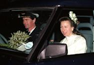 <p>Princess Anne remarried in 1992, the same year that her divorce was finalized. In a private ceremony in Scotland, she and Commander Timothy Laurence tied the knot. </p>