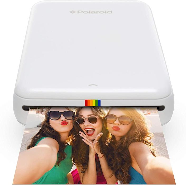 <p>This <span>Zink Polaroid Wireless Mobile Photo Mini Printer</span> ($84) will inspire anyone to make new memories.</p>