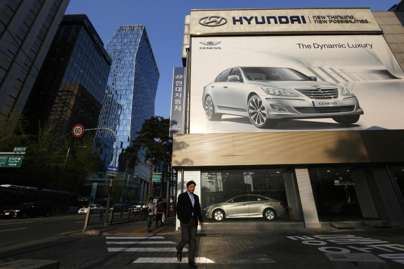 Hyundai Motor logs 15 percent drop in 1Q profit