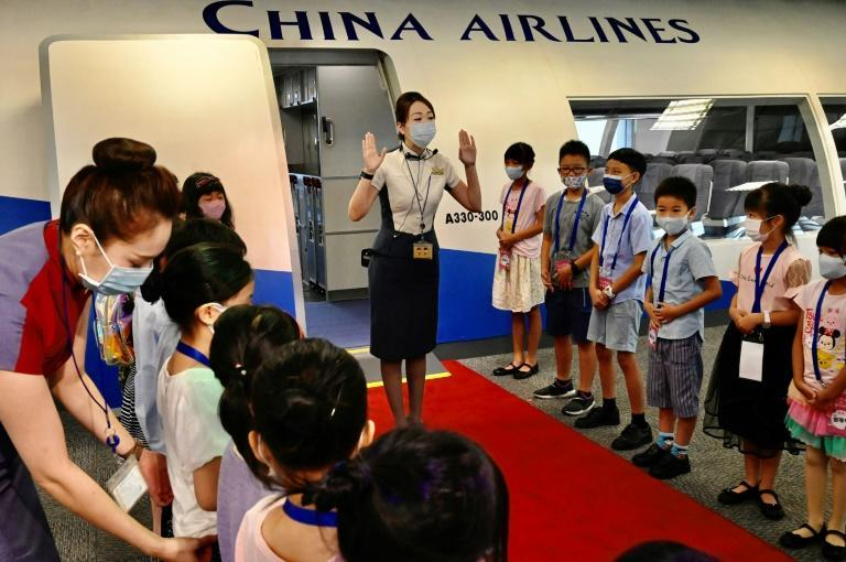 Like most airlines around the world, both China Airlines and its main competitor Eva Air have had to mothball a huge chunk of their fleet as international travel evaporates during the pandemic