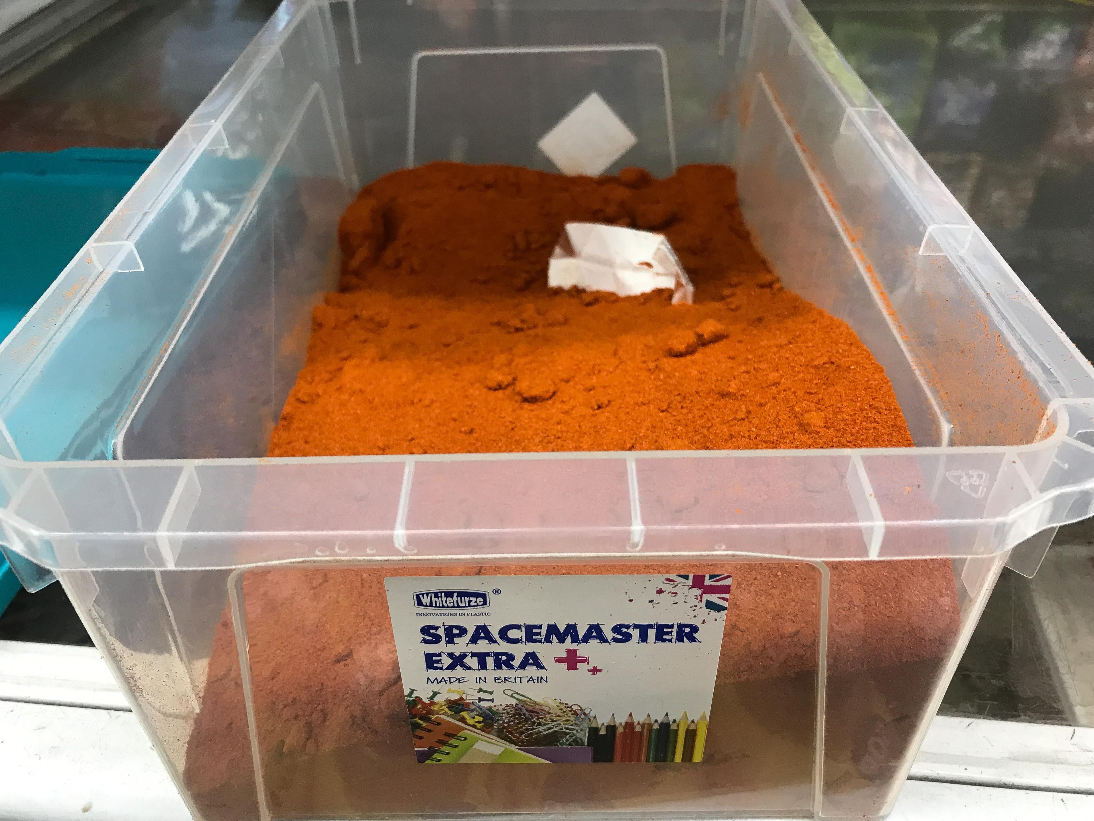Chilli powder was kept under the counter( Picture: SWNS)