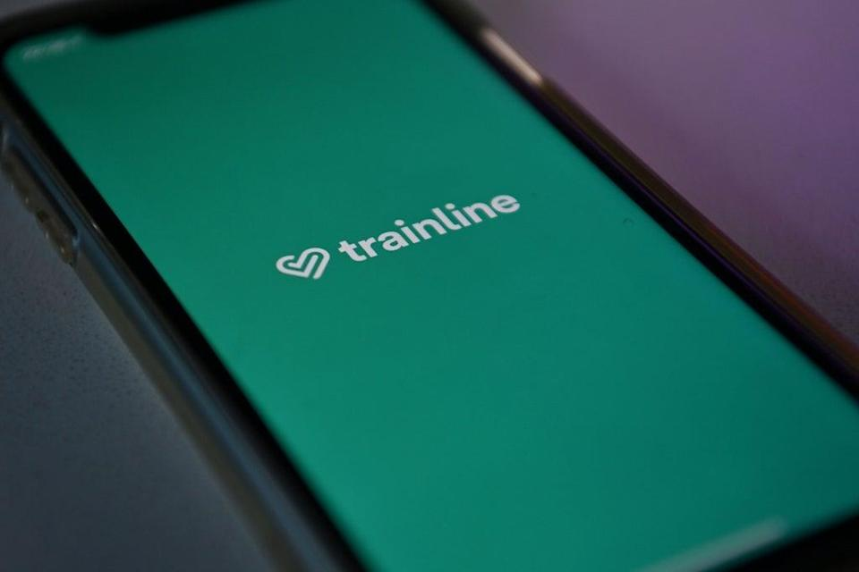 Trainline has reported growth in net ticket revenues  (AFP via Getty Images)