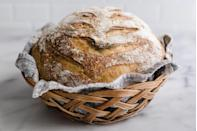"""<p>""""When baking bread, you can test it by tapping the top of the loaf with your fingernails. If it sounds hollow, the bread is ready. If not, it needs more time in the oven.""""</p><p>— <a href=""""https://www.instagram.com/jennysonafrank/"""" rel=""""nofollow noopener"""" target=""""_blank"""" data-ylk=""""slk:@jennysonafrank"""" class=""""link rapid-noclick-resp"""">@jennysonafrank</a></p>"""