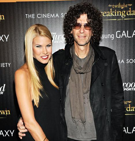 "Howard Stern's Wife Beth Stern: His Manhood ""Keeps Me Very Happy"""