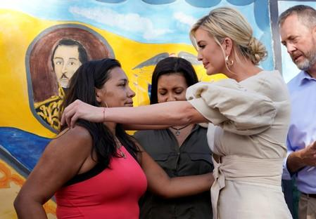 Ivanka Trump visits Colombia during her three-nation visit to South America