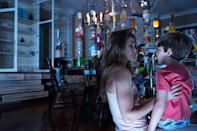 """<p><a class=""""link rapid-noclick-resp"""" href=""""https://www.popsugar.co.uk/Keri-Russell"""" rel=""""nofollow noopener"""" target=""""_blank"""" data-ylk=""""slk:Keri Russell"""">Keri Russell</a> stars in this supernatural horror flick as Lacy, a real estate agent who finds herself and her family plagued by a series of terrifying events. Lacy becomes determined to find the source of the deadly threat, and through research, she discovers that the threat may be supernatural. </p> <p>Watch <a href=""""http://www.netflix.com/title/70259395"""" class=""""link rapid-noclick-resp"""" rel=""""nofollow noopener"""" target=""""_blank"""" data-ylk=""""slk:Dark Skies""""><strong>Dark Skies</strong></a> on Netflix now.</p>"""