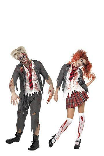 """<p>You may long for the good old days, but these school-centered zombies won't make you miss class time. Talk about bringing up bad memories from the past!</p><p><a class=""""link rapid-noclick-resp"""" href=""""https://go.redirectingat.com?id=74968X1596630&url=https%3A%2F%2Fwww.halloweencostumes.com%2Fzombie-school-boy-costume.html&sref=https%3A%2F%2Fwww.womansday.com%2Fstyle%2Fg28669645%2Fscary-halloween-couples-costumes%2F"""" rel=""""nofollow noopener"""" target=""""_blank"""" data-ylk=""""slk:Shop Men's Costume"""">Shop Men's Costume</a></p><p><a class=""""link rapid-noclick-resp"""" href=""""https://go.redirectingat.com?id=74968X1596630&url=https%3A%2F%2Fwww.halloweencostumes.com%2Fschool-girl-zombie-costume.html&sref=https%3A%2F%2Fwww.womansday.com%2Fstyle%2Fg28669645%2Fscary-halloween-couples-costumes%2F"""" rel=""""nofollow noopener"""" target=""""_blank"""" data-ylk=""""slk:Shop Women's Costume"""">Shop Women's Costume</a> </p>"""