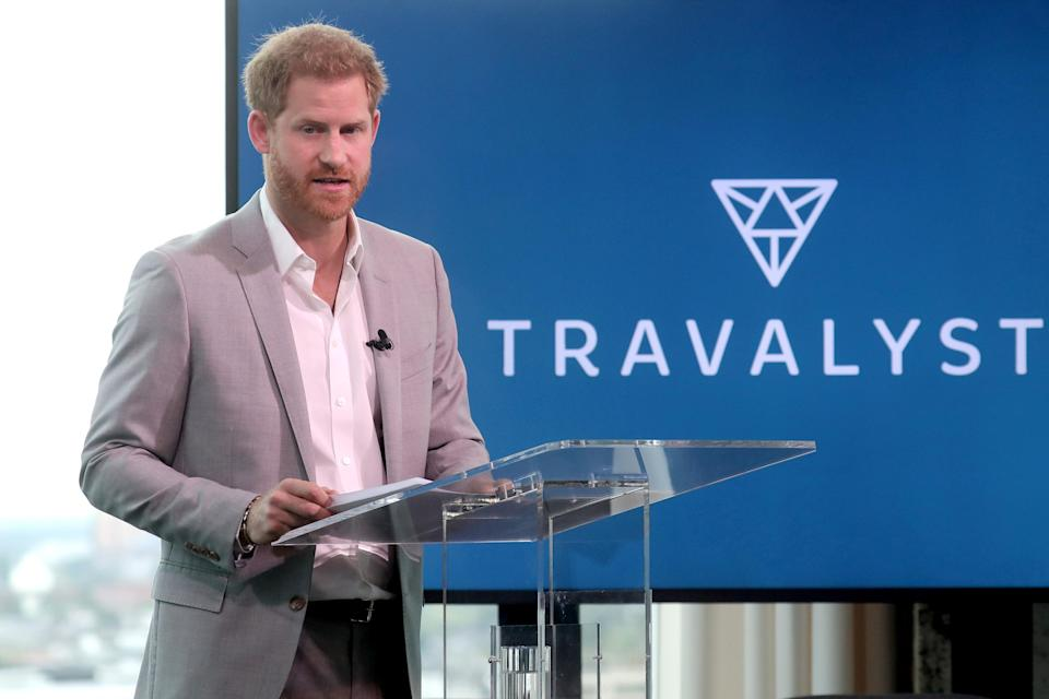 Travalyst is a project Harry has set up to promote sustainable tourism. (Getty Images)