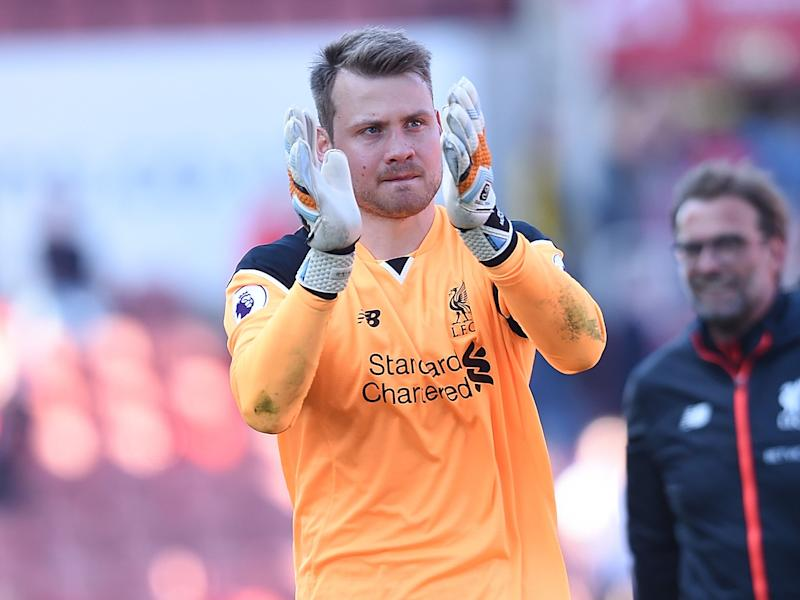 Mignolet saw off the challenge of Loris Karius to keep hold of the no 1 spot: Getty