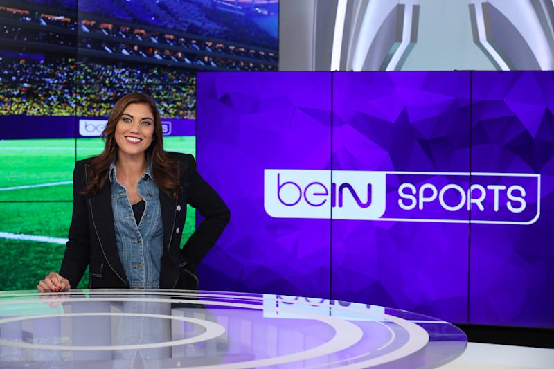 Hope Solo is trying to push broadcast boundaries with BeIN Sports. (Via BeIN Sports)