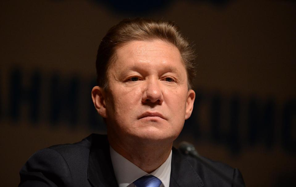 Gazprom CEO Alexei Miller in Moscow, on June 27, 2014 (AFP Photo/Vasily Maximov)
