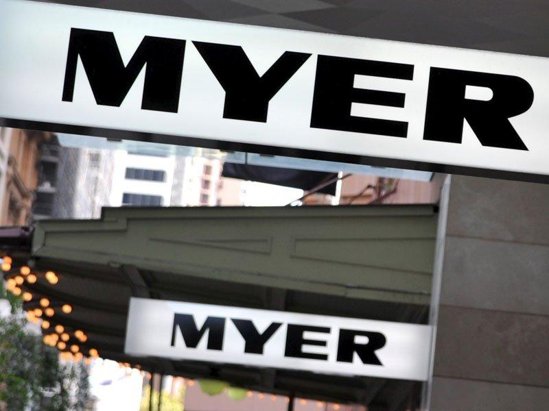 Myer shares drop to record lows
