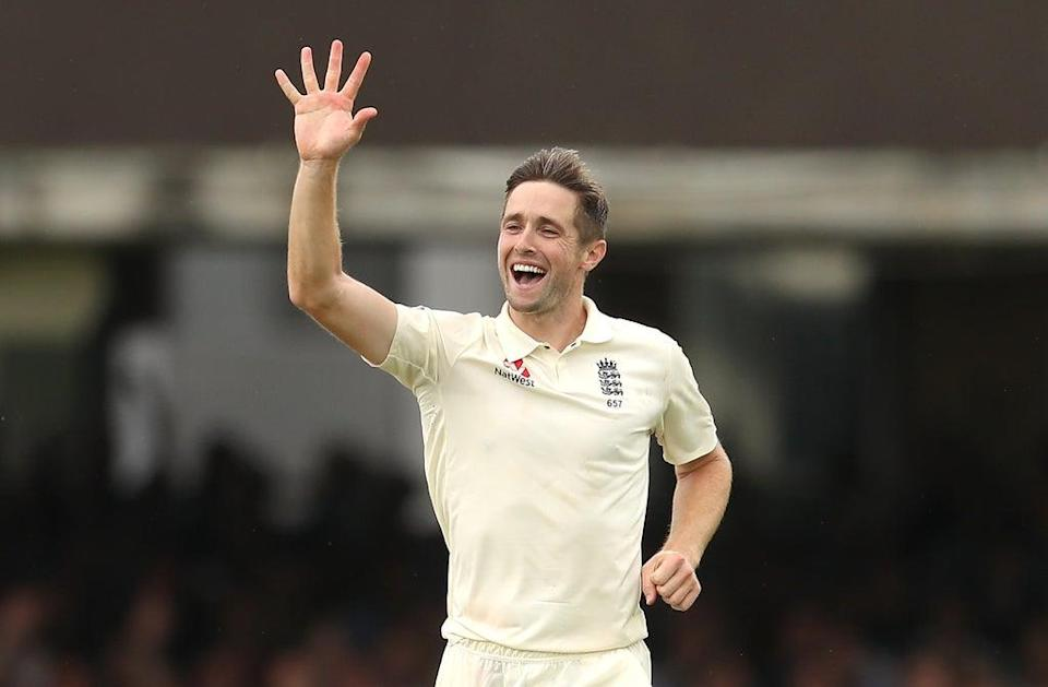 Chris Woakes made sure England's collapse against Ireland was not too costly (Bradley Collyer/PA) (PA Archive)