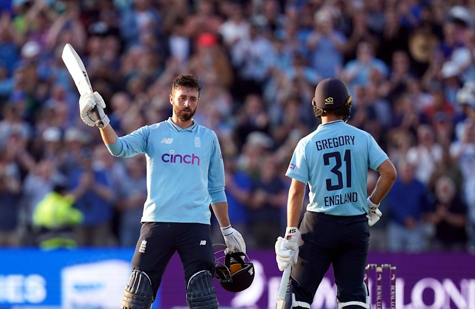 James Vince, left, got a century for England (PA Wire)
