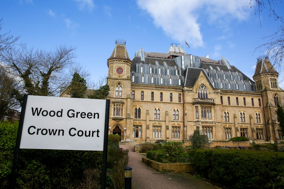 An exterior view of Wood Green Crown Court in north London. (Photo by Dinendra Haria / SOPA Images/Sipa USA)