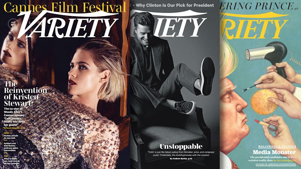 Variety covers