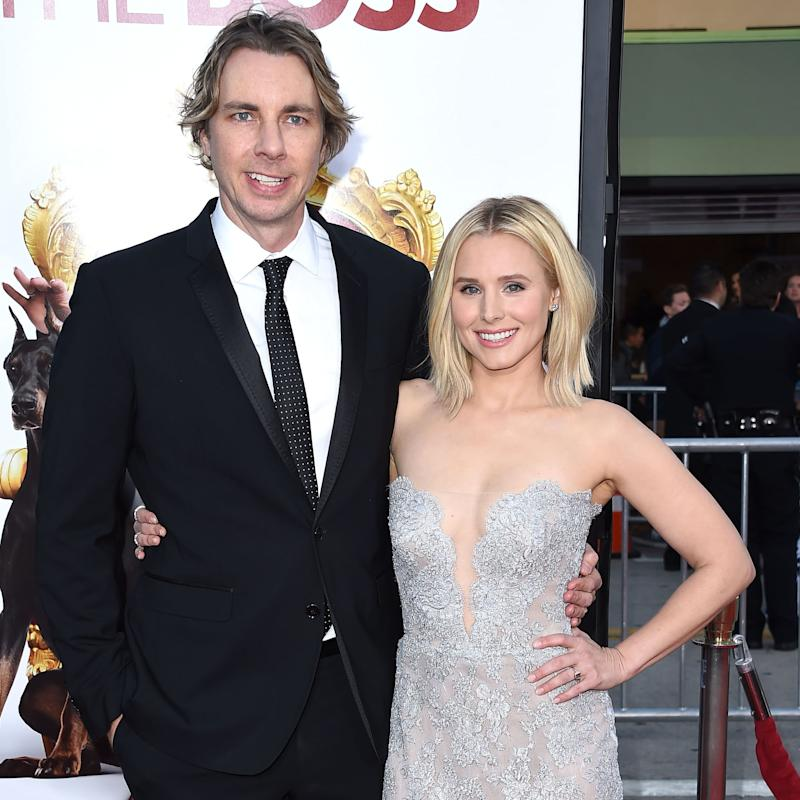 Kristen Bell and Her Kids Throw a Dance Party For Dax Shepard While He's in Isolation