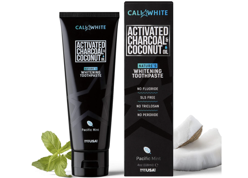 Hate whitening strips? Try this toothpaste. (Photo: Amazon)