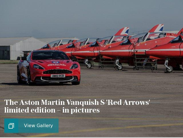 The Aston Martin Vanquish S 'Red Arrows' limited edition – in pictures