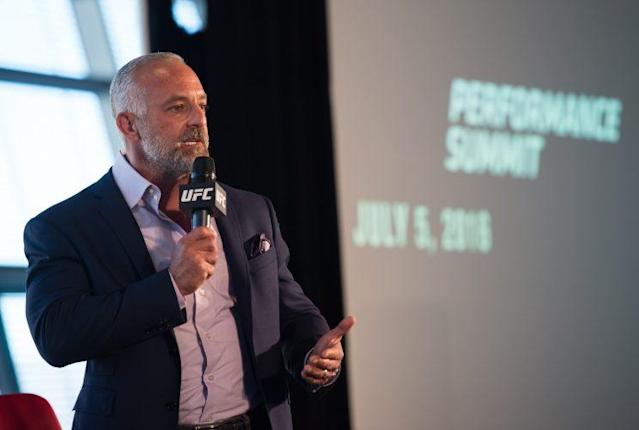 "CEO <a class=""link rapid-noclick-resp"" href=""/ncaaf/players/232579/"" data-ylk=""slk:Lorenzo Fertitta"">Lorenzo Fertitta</a> has been a major reason for the UFC's success."