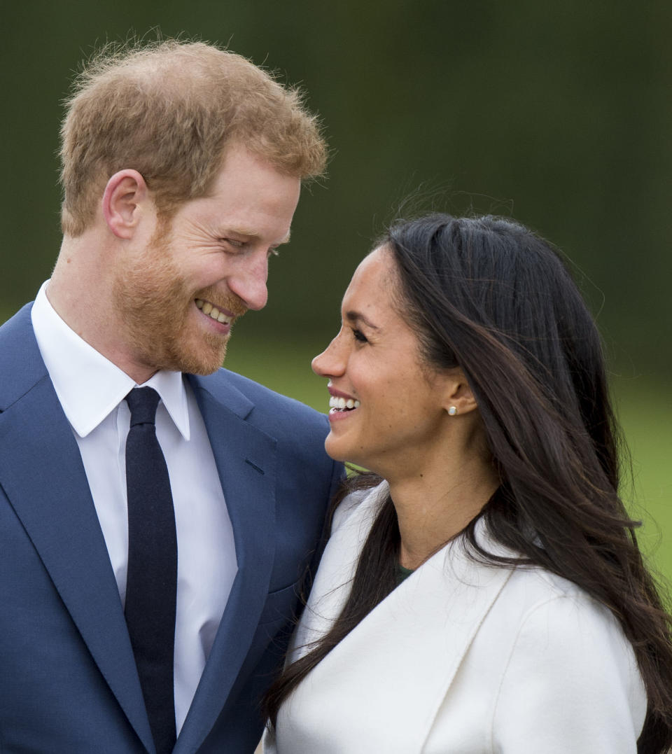 The slightly imperfect nature of Meghan's nose is probably why, according to one surgeon [Photo: Getty]
