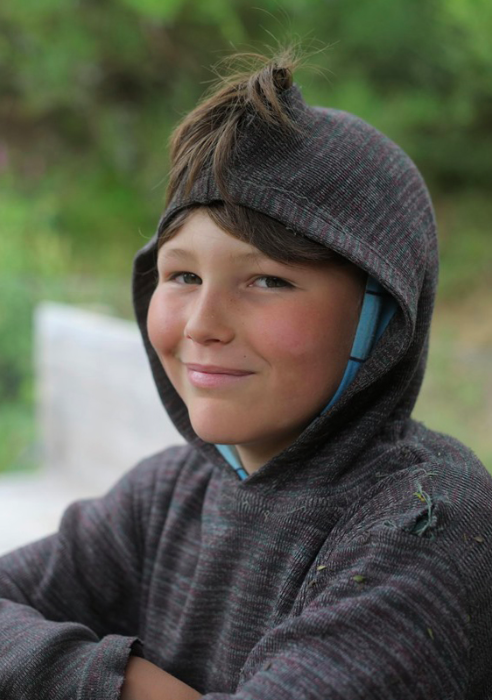 Tristan suffered serious head injuries when the family's blue Subaru hit a 4x4 (Wales News Service)