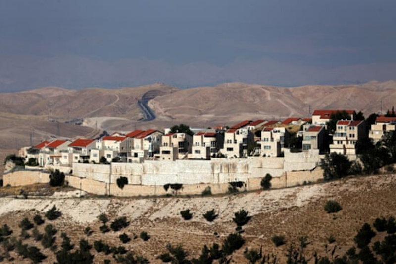 Israel Advances Nearly 2,000 Settlement Homes in West Bank, Watchdog Says