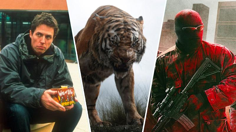 About A Boy, The Jungle Book, Triple 9.