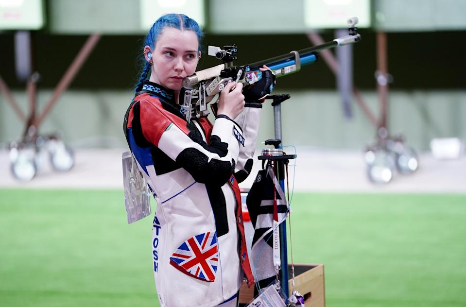 Seonaid McIntosh is the favourite in the women's 3x50m rifle (Danny Lawson/PA) (PA Wire)