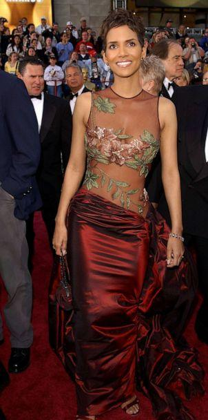PHOTO: In this March 24, 2002, file photo, Halle Berry arrives for the 74th Annual Academy Awards held at the Kodak Theatre in Hollywood. (Frank Micelotta/ImageDirect via Getty Images, FILE)