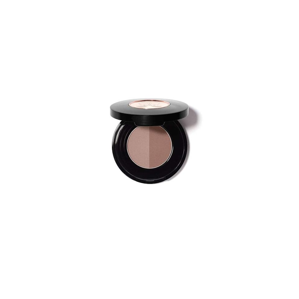 """<h3>Anastasia Beverly Hills Brow Powder Duo</h3><br><strong>Rebecca</strong><br><br>""""ABH is <em>it</em>. This product does wonders for my eyebrows. The powder fills them in so well, and I can really make the effect look natural with the subtly different shades. I love it.""""<br><br><strong>Anastasia Beverly Hills</strong> Brow Powder Duo, $, available at <a href=""""https://amzn.to/2UQSRVR"""" rel=""""nofollow noopener"""" target=""""_blank"""" data-ylk=""""slk:Amazon"""" class=""""link rapid-noclick-resp"""">Amazon</a>"""