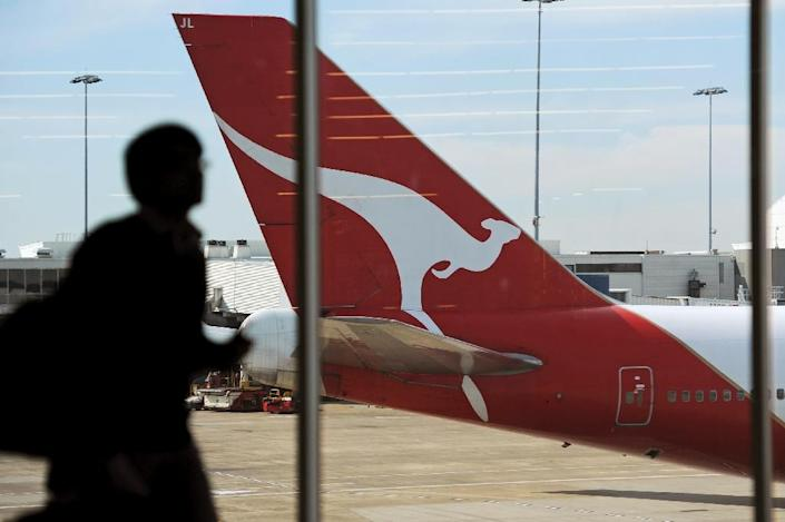 Qantas chief executive Alan Joyce says the key to an individual experience is allowing passengers to decide on which perks they receive (AFP Photo/Greg Wood)