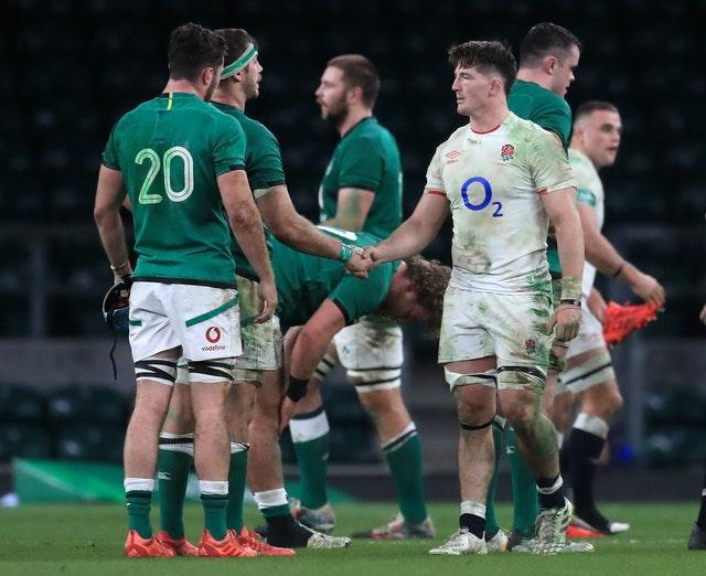 Ireland suffered an 18-7 loss to England last weekend