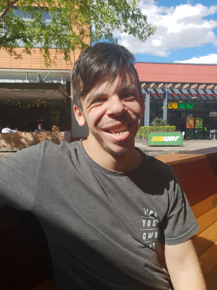 Stefan Males's support worker took to social media to find him a job in Sydney.